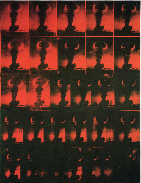 Andy Warhol: Atomic Bomb (Foto aus Baker, Kenneth, 1988)